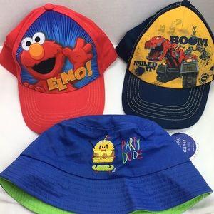 3 kids hats NWT